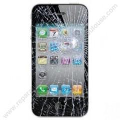 changement de vitre écran tactile glasse cassé sur iphone 3G a toulouse
