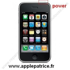 changement de nappe power vibreur volume sur iphone 3G a toulouse