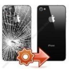 changement ecran complet pour iphone 4s noir ou blanc avant et arriére sur toulouse applepatrice pas cher