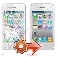 changement de vitre ecran tactile sur iphone 5 noir ou blanc a toulouse pas cher applepatrice